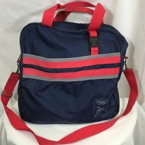 Vintage International Olympic Committee Nylon Bag